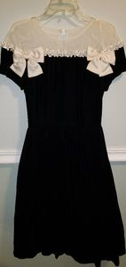 Never worn Gorgeous black suede formal dress